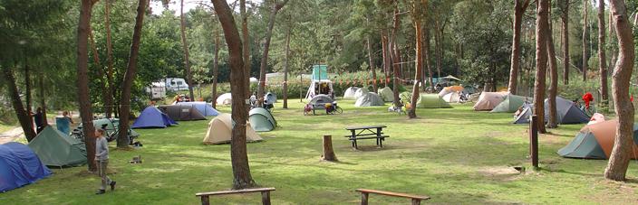 kamperen met een groep