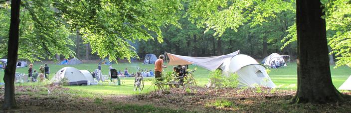 Word natuurkampeerder en geniet van de rust en ruimte op de Natuurkampeerterreinen