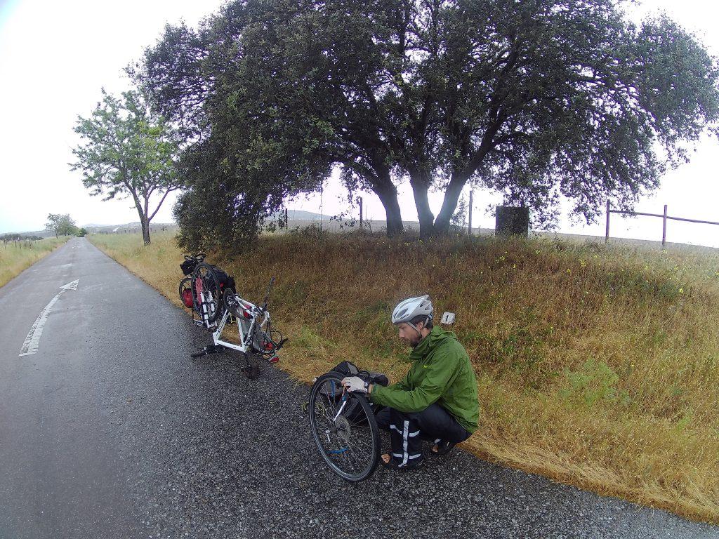 Pech tijdens de fietsvakantie