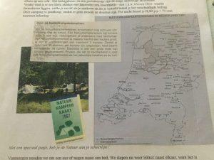 Natuurkampeerkaart 1997