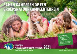 cover brochure groepsnatuurkampeerterreinen 2021
